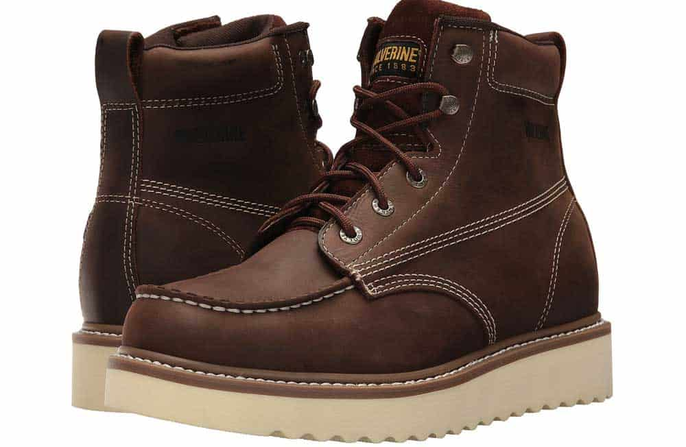 Wolverine Men's Loader 6″ Soft Toe Wedge Work Boot Review