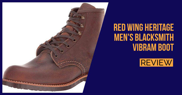 Red Wing Heritage Men's Blacksmith Vibram Review