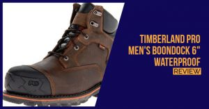 Timberland PRO Men's Boondock 6″ Waterproof Review