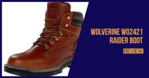 Wolverine Men's W02421 Raider Boot review